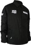 Throttle Threads Men's TEAM SNOW Textile Jacket (Black)