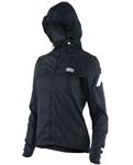 100% MX Motocross Women's AERO TECH Windbreaker Jacket (Black)