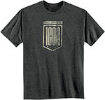 ICON 1000 Crest Motorcycle T-Shirt  (Heather)
