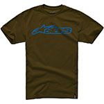 ALPINESTARS Blaze Short Sleeve T-Shirt (Java/Blue)