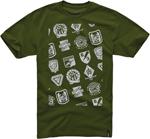 ALPINESTARS IMPELLER T-Shirt (Military Green)