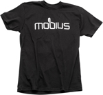 MOBIUS Crew Neck Short Sleeve Tee T-Shirt (Black)