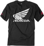 Factory Effex Official Licensed HONDA Big Wing T-Shirt (Black)