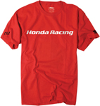 Factory Effex Official Licensed HONDA Racing T-Shirt (Red)