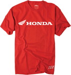 Factory Effex Official Licensed HONDA Horizontal T-Shirt (Red)