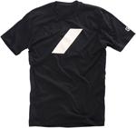 100% MX Motocross BAR Premium Tee Short Sleeve T-Shirt (Black)