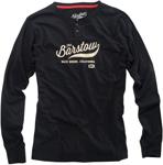 100% MX Motocross BARSTOW SELECTEUR Long Sleeve Henley Shirt (Black)
