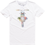 Alpinestars 101 Short Sleeve Tee T-Shirt (White)