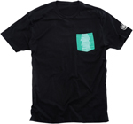 100% MX Motocross CONIFER Short Sleeve T-Shirt (Black)