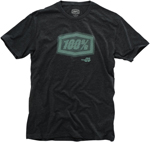 100% MX Motocross STATIC Short Sleeve T-Shirt (Charcoal)