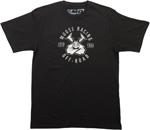 MOOSE Racing Men's 2017 AGROID INSIGNIA Tee Short Sleeve T-Shirt (Black)