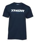 THOR MX Motocross Men's 2017 SANO Short Sleeve Tee T-Shirt (Navy)