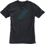 100% MX Motocross PULSE Short Sleeve Tee T-Shirt (Charcoal Grey)