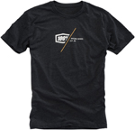 100% MX Motocross ESSENCE Short Sleeve Tee T-Shirt (Charcoal Grey)