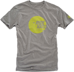 100% MX Motocross SHINE Short Sleeve Tee T-Shirt (Heather Grey)