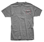 Thor MX Motocross Men's Hallman Traditions Tee (Heather Gray)