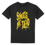 Icon Motosports STREETS NOT DEAD Tee Short-Sleeve T-Shirt (Black)
