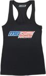 Moose Racing MX Off-Road Women's Glory Tank Top (Black)