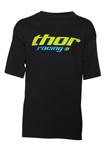 THOR MX Motocross Kids 2017 PININ Short Sleeve Tee T-Shirt (Black)