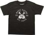 MOOSE Racing Boys 2017 AGROID INSIGNIA Tee Short Sleeve T-Shirt (Black)
