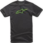 Alpinestars Kid's AGELESS Tee Short Sleeve T-Shirt (Black/Green)