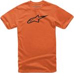 Alpinestars Kid's AGELESS Tee Short Sleeve T-Shirt (Orange/Black)