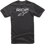 Alpinestars Kid's Ride 2.0 Tee Short Sleeve T-Shirt (Black/White)