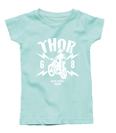 Thor MX Motocross Toddler Girl's Lightning T-Shirt (Mint)