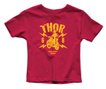 Thor MX Motocross Toddler Lightning T-Shirt (Gray)
