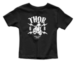 Thor MX Motocross Toddler Lightning T-Shirt (Black)