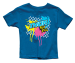 Thor MX Motocross Youth Fast Boyz T-Shirt (Royal Blue)