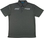 Moose Racing MX Off-Road Corporate Polo Shirt (Heather Gray)