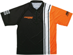 Moose Racing MX Off-Road 2019 Pit Shirt (Black/Orange)