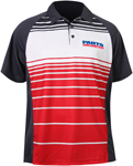 Throttle Threads Men's PARTS UNLIMITED Polo Shirt (Red)