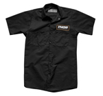 Thor MX Motocross Men's Standard Work Shirt (Black)