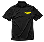 Thor MX Motocross Men's Loud Polo Shirt (Black)