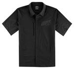 Icon Motosports OVERLORD Snap-Front Shop Shirt (Black)