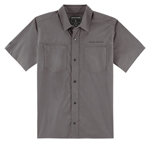 Icon 1000 COUNTER Snap-Front Shop Shirt (Grey)