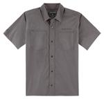 Icon 1000 COUNTER Snap-Front Shop Shirt (Grey)