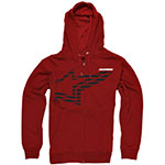 ALPINESTARS Plume Zip-Up Hoodie Sweatshirt (Red)