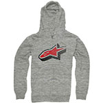 ALPINESTARS Zeerocks Zip-Up Hoodie Sweatshirt (Gray)
