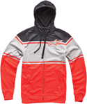ALPINESTARS Warner Zip-Up Sweatshirt Hoodie (Red)