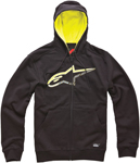 ALPINESTARS Chapman Zip-Up Sweatshirt Hoodie (Black)