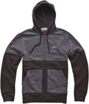 ALPINESTARS Recovery Zip-Up Sweatshirt Hoodie (Black)