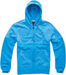 ALPINESTARS Recovery Zip-Up Sweatshirt Hoodie (Blue)