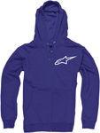 ALPINESTARS Ranking Zip-Up Sweatshirt Hoodie (Blue)