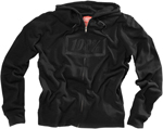 100% MX Motocross SYNDICATE Zip-Up Sweatshirt Hoody (Black)