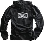 100% MX Motocross CORPO Pullover Sweatshirt Hoody (Black)