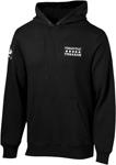Throttle Threads Men's ACES Pullover Hoodie/Sweatshirt (Black)