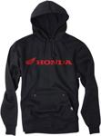 Factory Effex Official Licensed HONDA Horizontal Pullover Hoodie Sweatshirt (Black)